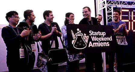 Alvéolait gagnant du Startup Week-end 2016