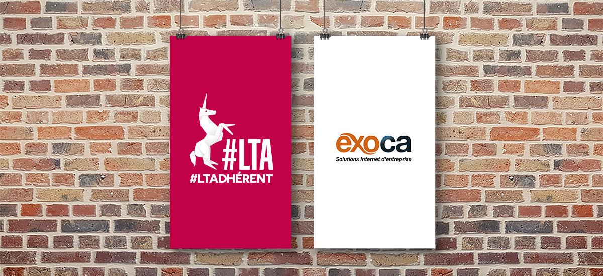 Exoca, solutions internet d'entreprise - Adhérent #LTA