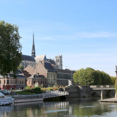 La Cantine Numérique d'Amiens en plein coeur du quartier Saint-Leu