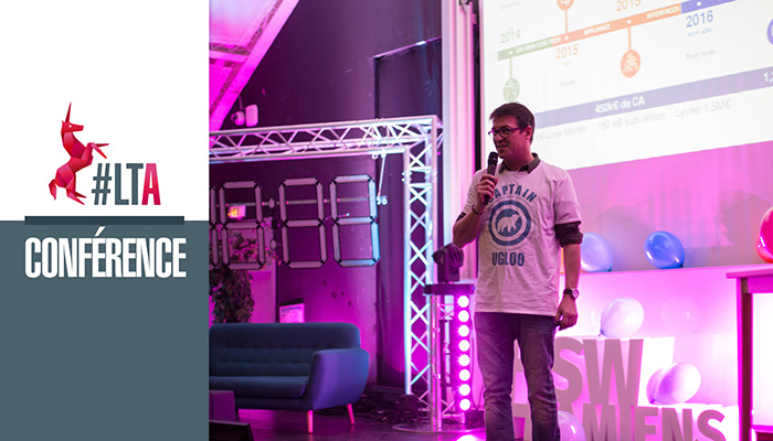 Conférence #LTA : La levée de fonds - Christophe Laire