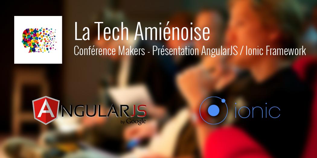 Conf AngularJS / Ionic Framework