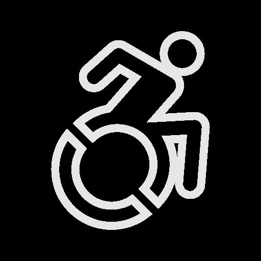illustration d'une personne à mobilité réduite