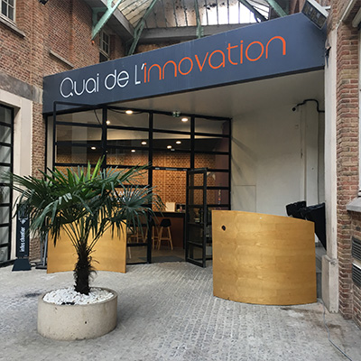 Patio du Quai de l'innovation