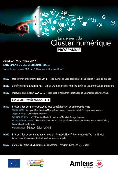Lancement cluster numerique