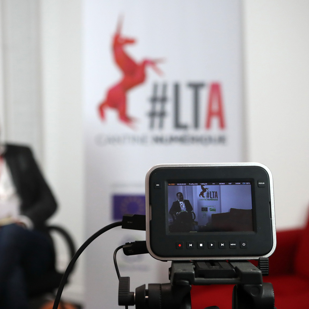 studio photo et vidéo de la cantine numérique à Amiens