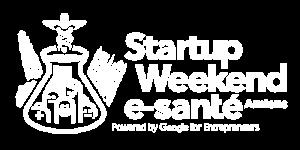 Startup Weekend e-santé - Logo blanc