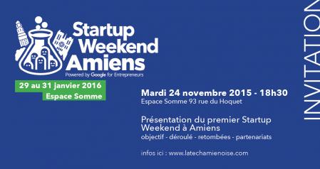 Startup Week-end à Amiens