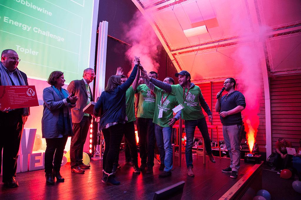 Startup Weekend Amiens 2017 - Les gagnants : Topler