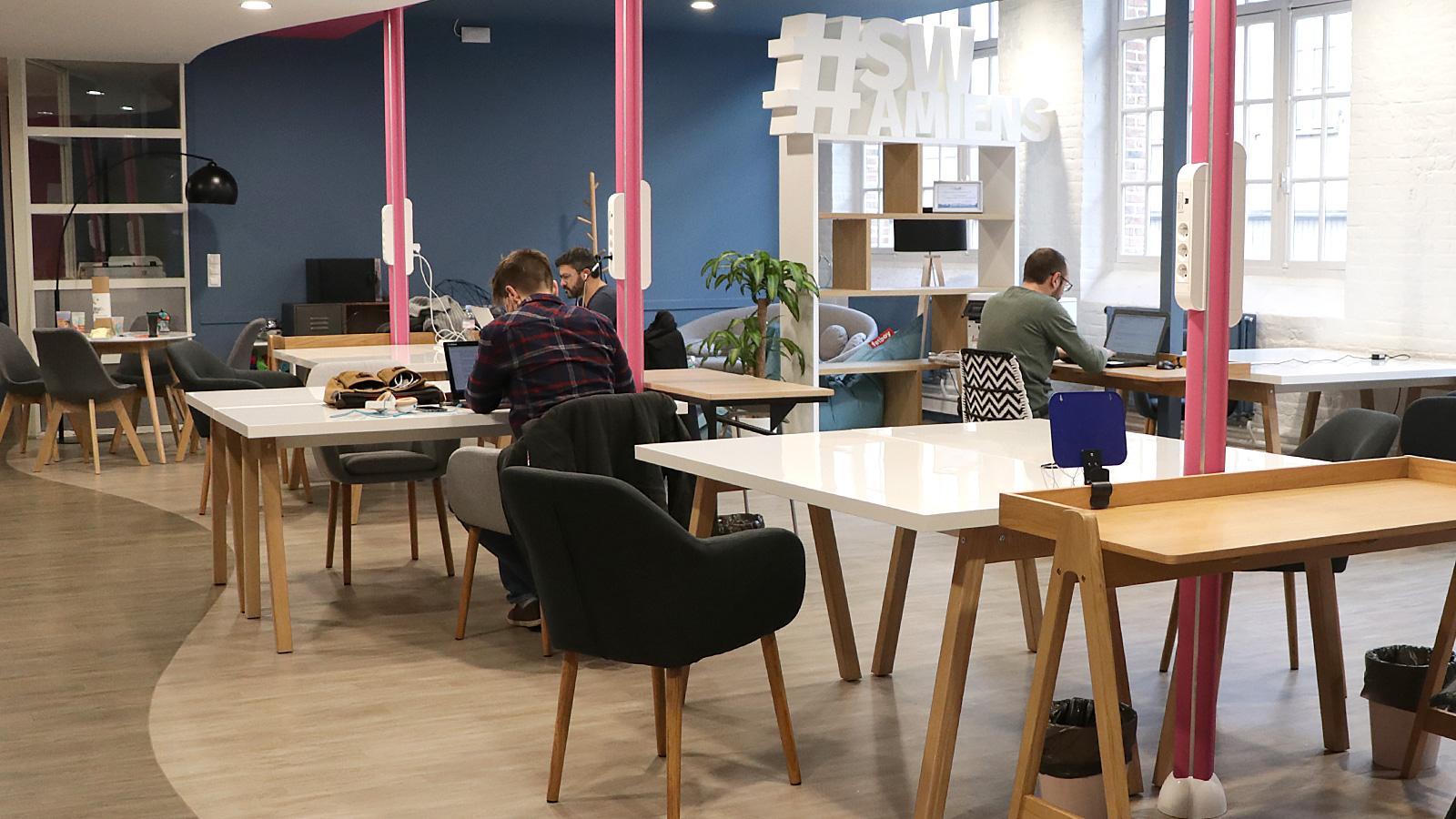 Coworking : Places de coworking à Amiens