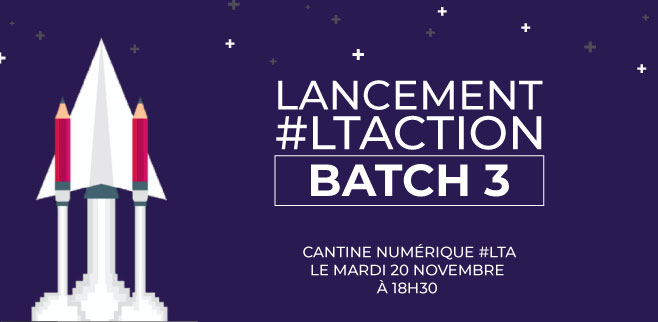 Lancement batch3 ltaction