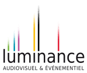 Logo luminance white