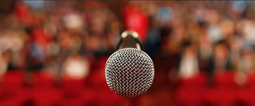 Start up pitch mic