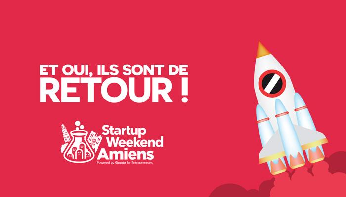 Startup Weekend Amiens : Le retour