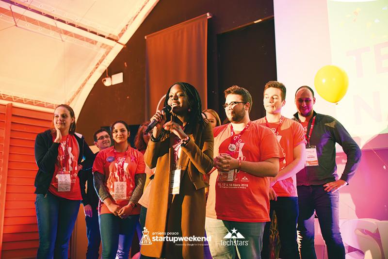 Hoja : Première place du Startup Weekend Amiens Peace
